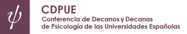 Conferencia de Decanos y Decanas de Psicología de las Universidades Españolas